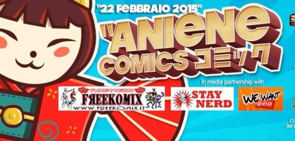 Aniene Comics: prima edizione il 22 febbraio a Tivoli Terme