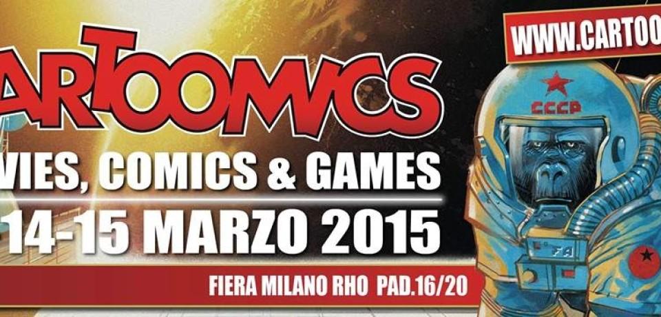 Cartoomics 2015: 22ª ed. dal 13 al 15 marzo a Milano