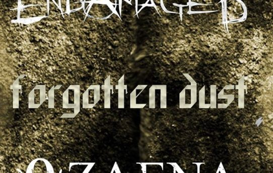 Endamaged + Forgotten Dust + Ozaena, metal night al Sinister Noise