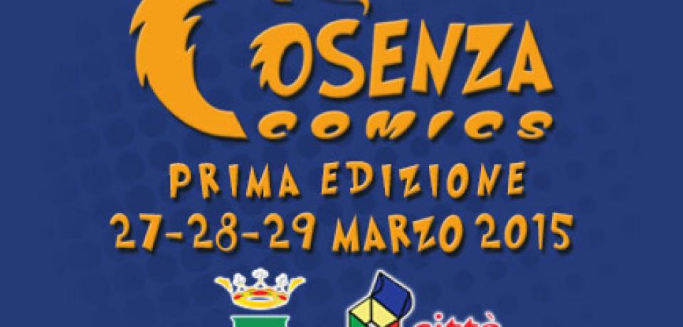 Cosenza Comics dal 27 al 29 marzo 2015