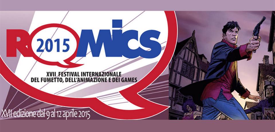 Romics 2015, dal 9 al 12 aprile