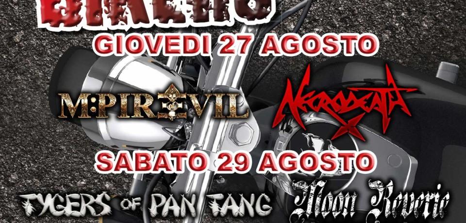 Festa Bikers: le prime band confermate per il meeting di Bergamo