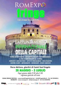 Romexpo Roma Fringe Festival Castel Sant'angelo colori