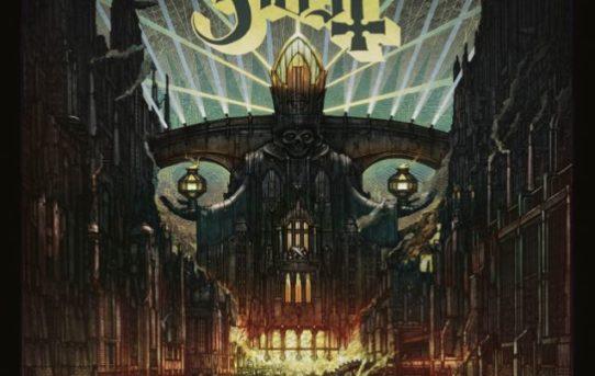Ghost, svelata la copertina del nuovo disco