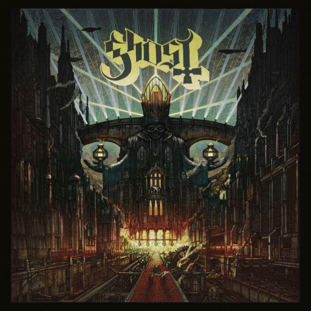 ghost nuovo disco cover