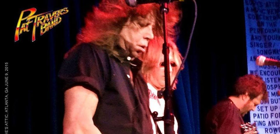 Review of Pat Travers Band at Eddie's Attic, Atlanta, GA June 9, 2015