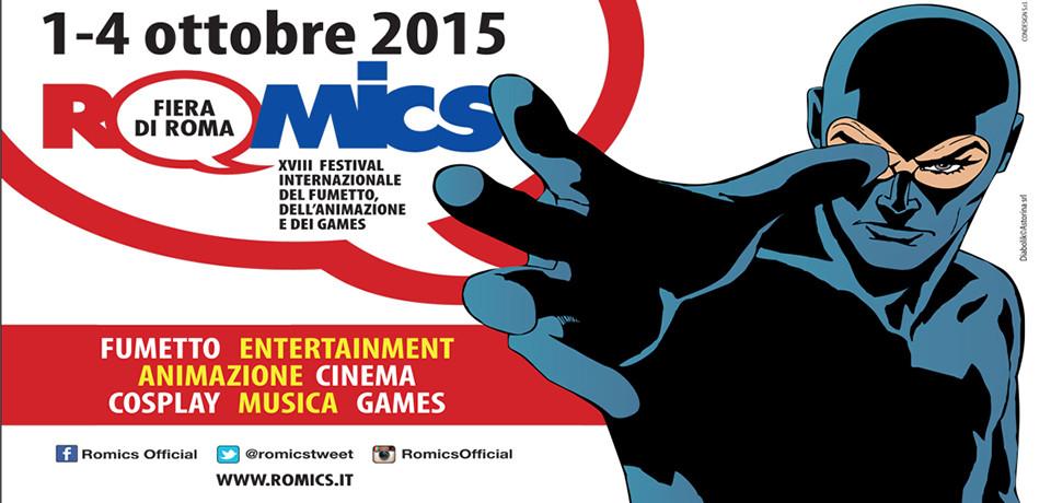Romics dal 1° al 4 ottobre 2015