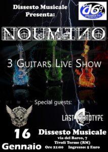Noumeno 3 live guitar show