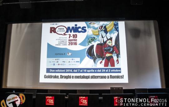 Romics, edizione primaverile, confermata dal 7 al 10 aprile 2016