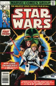 Il mitico n.1 pubblicato negli Stati Uniti dalla Marvel nel 1977