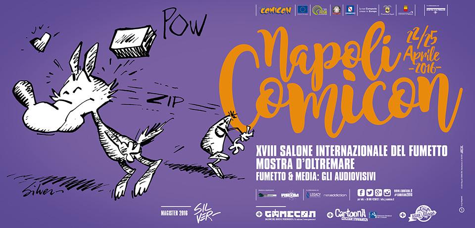 Comicon 2016 in programma dal 22 al 25 aprile alla Mostra d'Oltremare di Napoli