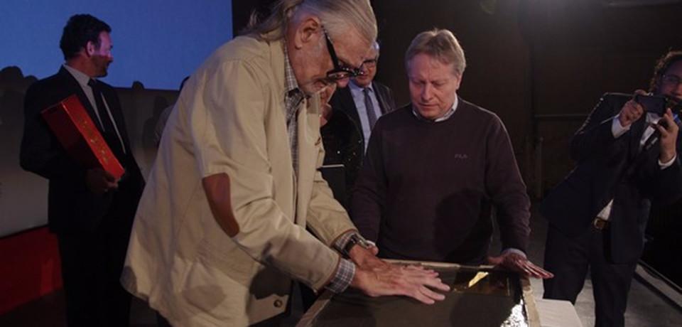 Lucca Comics & Games rende eterne le mani di George Romero nella Walk of fame di Lucca