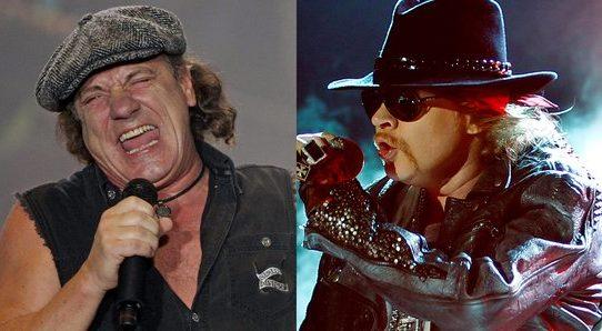 Axl Rose e AC/DC, ossimoro musicale