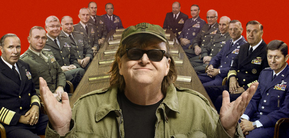 "Il Premio Oscar Micheal Moore arriva al cinema con ""Where to invade next"" 9/11 maggio"