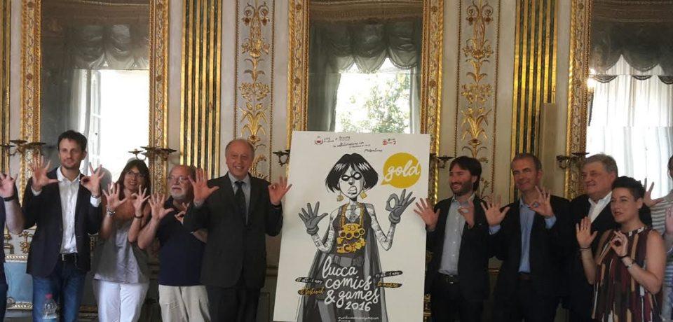 Lucca Comics & Games Presentata l'edizione 2016