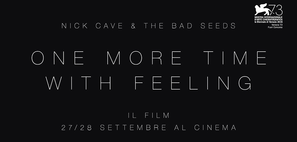 Ecco il trailer di One More Time With Feeling su Nick Cave, al cinema il 27 e 28 settembre