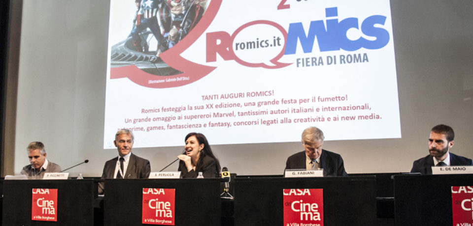 Tanti auguri Romics! Presentata la ventesima edizione del festival