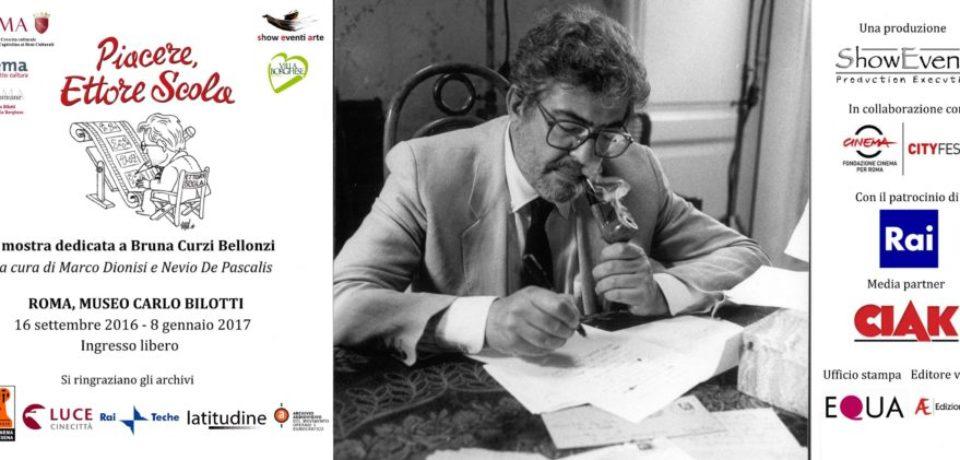 Piacere, Ettore Scola, la mostra al Museo Carlo Bilotti di Roma