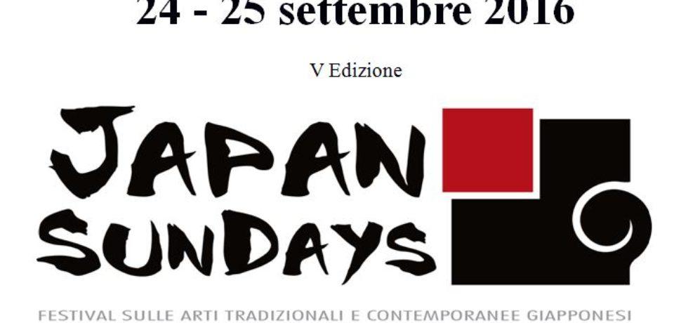 Japan Sundays, due giorni dedicati alla cultura del Sol Levante