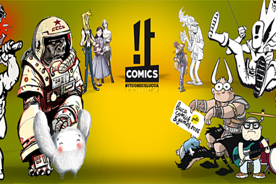 It Comics a Lucca 2016