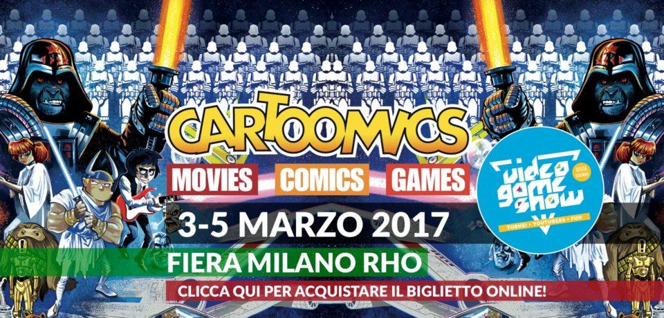 Cartoomics 2017, si avvicina il via della 24esima edizione