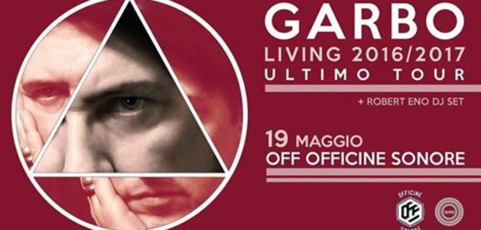 Garbo, disco e tour celebrativo per 35 anni di carriera e addio all'attività concertistica
