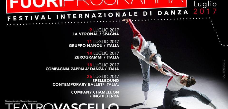 Al Teatro Vascello, Festival Internazionale di danza Contemporanea, Fuori Programma dal 9 al 26 luglio