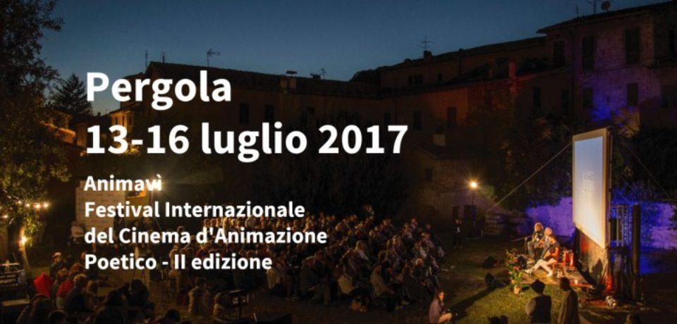 A Pergola (Pesaro Urbino), dal 12 al 16 luglio, Animavì Festival Internazionale del Cinema d'animazione poetico