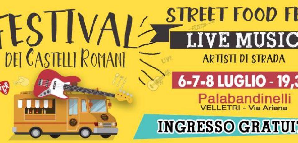 Festival dei Castelli Romani, VI edizione Velletri 6/7/8 luglio