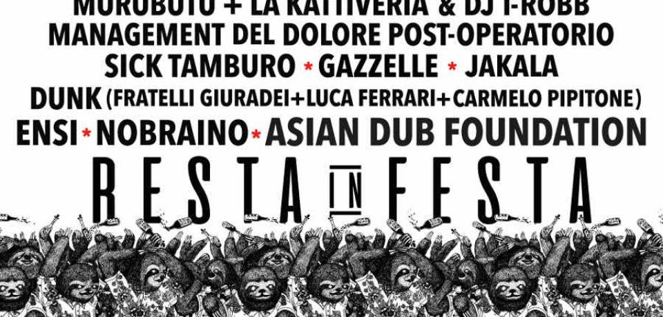 Resta in festa al via il 27 luglio a Palazzolo (BS) la quattro giorni di musica per tutti i gusti