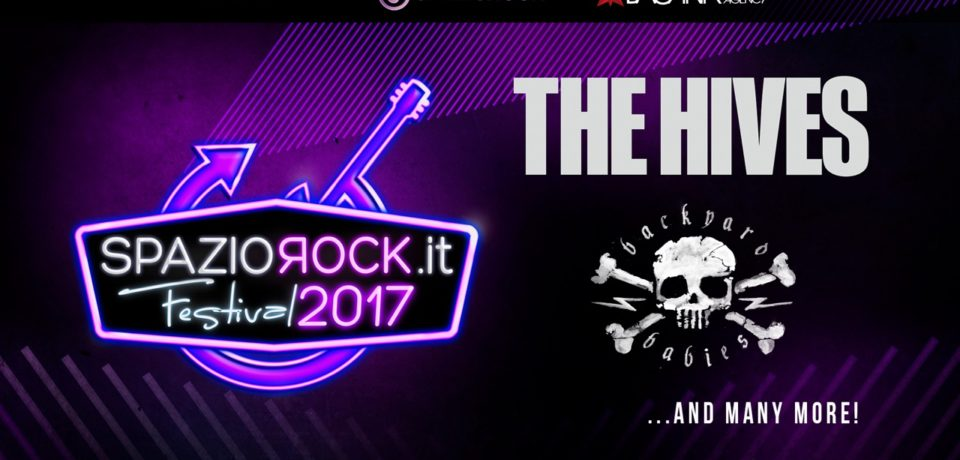 SpazioRock.it Festival 2017: annunciati i Backyard Babies