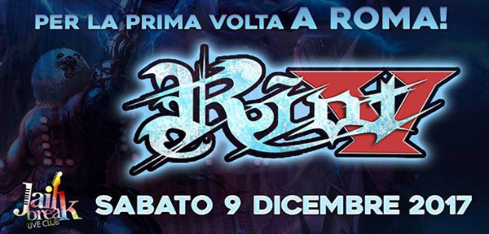 I Riot V al Jailbreak Live Club di Roma il 9 dicembre