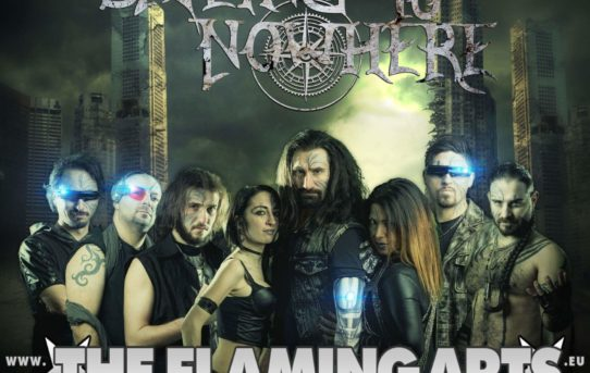 Sailing to nowhere firmano con The flaming arts agency