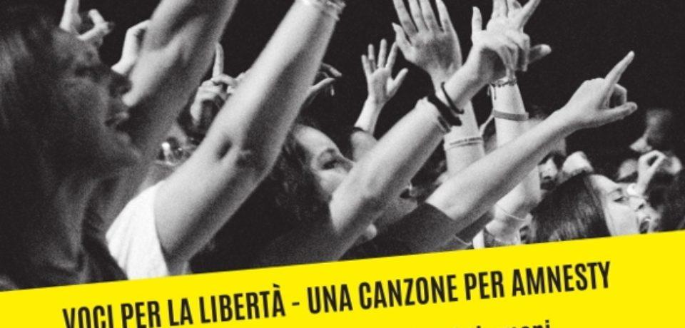 """Voci per la libertà – Una canzone per Amnesty"""": il libro sui 20 anni del festival"""