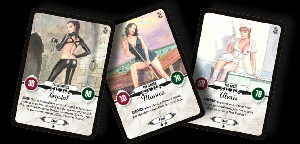 Red light, il gioco di carte sull'industria pornografica che vede insieme Milo Manara e Pornhub
