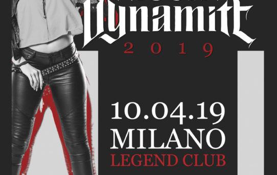 Kissin' Dynamite, unica data Italiana ad aprile