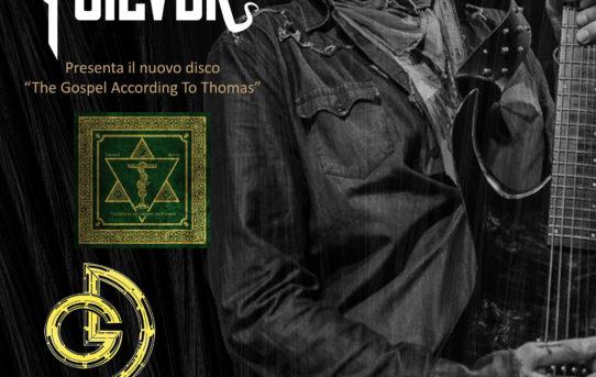 Thomas SIlver (ex-Hardcore Superstar) presenta il nuovo disco alla Galleria del Disco di Firenze