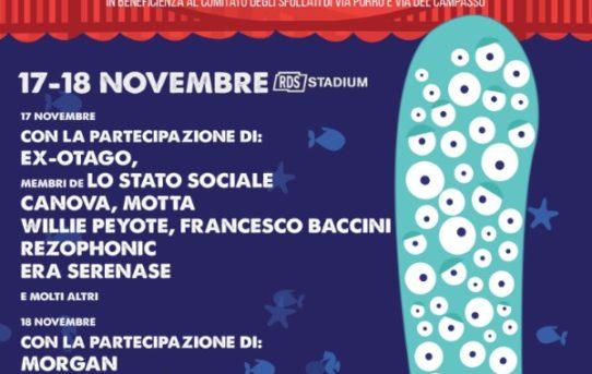 """Un concerto per Genova"" 17 e 18 novembre, RDS Stadium, Genova"