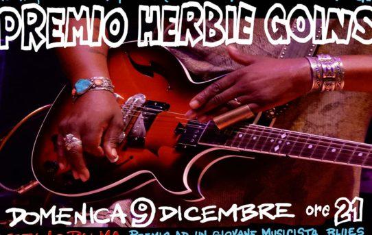 Premio Herbie Goins all'Asino Che Vola il 9 dicembre