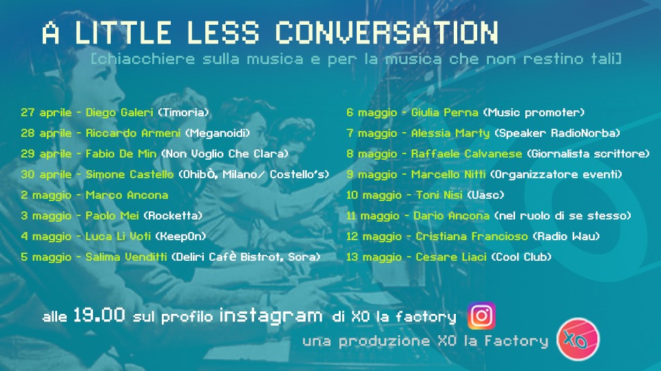 little less conversation