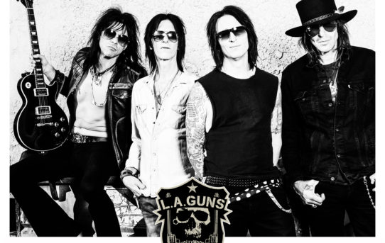 L.A. Guns release their new single 'Well Oiled Machine