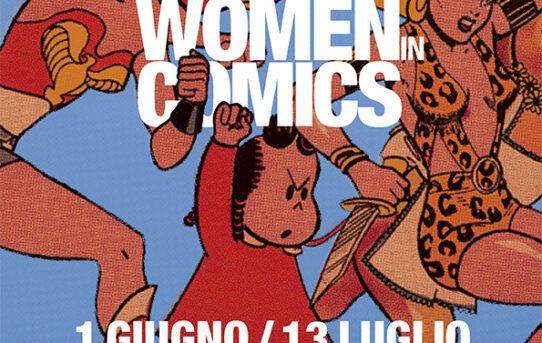 A Roma, in esclusiva europea, la mostra Women in Comics